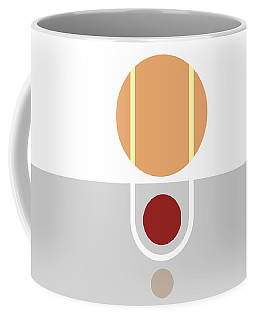 Coffee Mug featuring the painting Geometric Painting 11 by Arttantra