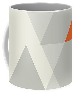 Coffee Mug featuring the painting Geometric Painting 15 by Arttantra