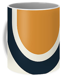 Coffee Mug featuring the painting Geometric Painting 17 by Arttantra
