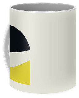 Coffee Mug featuring the painting Geometric Painting 19 by Arttantra