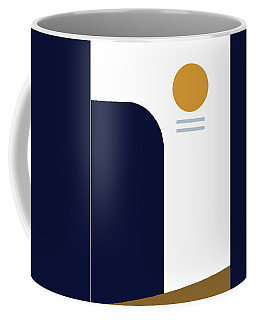 Coffee Mug featuring the painting Geometric Painting 2 by Arttantra