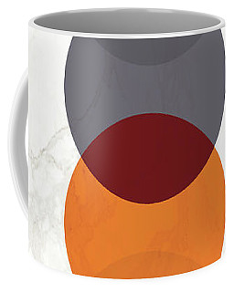 Coffee Mug featuring the painting Geometric Painting 20 by Arttantra