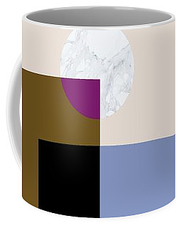 Coffee Mug featuring the painting Geometric Painting 4 by Arttantra