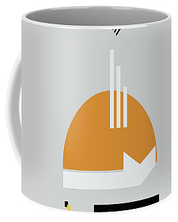 Coffee Mug featuring the painting Geometric Painting 8 by Arttantra