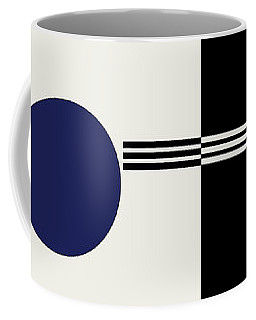 Coffee Mug featuring the painting Geometric Painting 9  by Arttantra