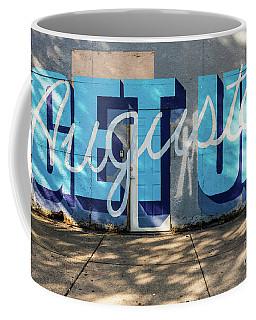 Get Up Augusta Ga Mural  Coffee Mug