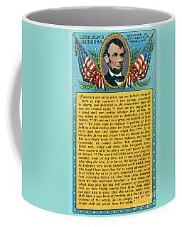 Gettysburg Address By Abraham Lincoln Coffee Mug