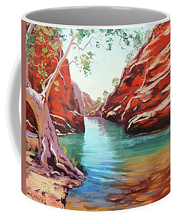 Ghost Gum Alice Springs Coffee Mug
