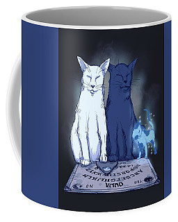 Ghost Kitten Coffee Mug