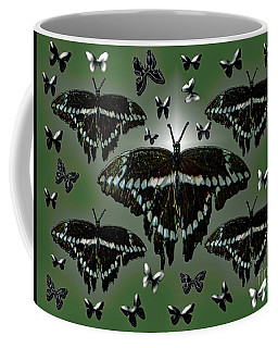Giant Swallowtail Butterflies Coffee Mug