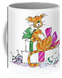 Ginger Cat's Christmas Coffee Mug