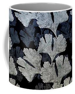 Ginko Leaf Pattern Coffee Mug