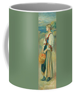 Girl With A Basket Of Oranges, Circa 1889  Coffee Mug