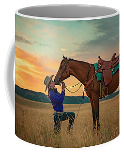 Girls And Horses Coffee Mug