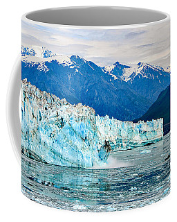 Glacier Calving Alaska  Coffee Mug