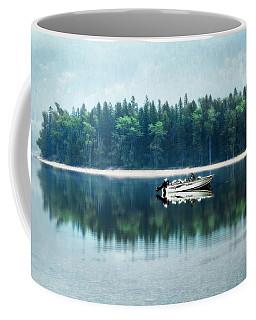 Glacier National Park Lake Reflections Coffee Mug