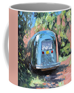 Glamping In Dappled Light Coffee Mug