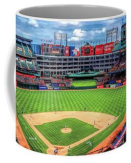 Globe Life Park Texas Rangers Baseball Ballpark Stadium Coffee Mug
