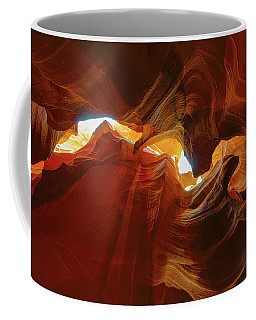 Coffee Mug featuring the photograph Antelope Jagged Beauty by Mark Duehmig
