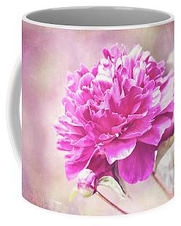 Glorious Pink Peony Coffee Mug