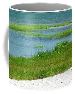 Glowing Beach Grasses Cape Cod Coffee Mug