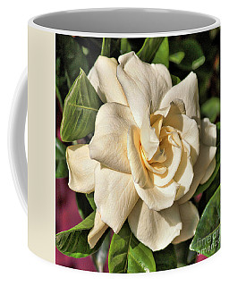 Glowing Gardenia Coffee Mug