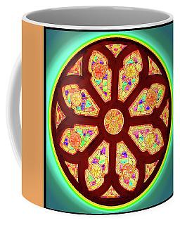 Glowing Rosette Coffee Mug