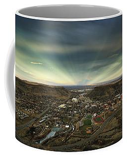 Go East Young Man Coffee Mug