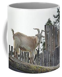 Goat On The Roof Coffee Mug