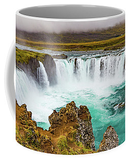 Godafoss Waterfall, Iceland Coffee Mug