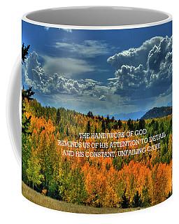 God's Handiwork Coffee Mug