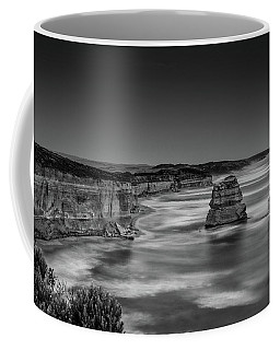 Coffee Mug featuring the photograph Gog And Magog At The Twelve Apostles by Chris Cousins