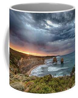 Coffee Mug featuring the photograph Gog And Magog by Chris Cousins