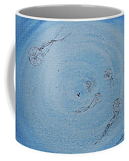 Coffee Mug featuring the painting Going Deeper by Kim Nelson
