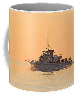 Coffee Mug featuring the photograph Going Fishing On The Angler by Robert Banach