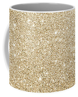 Gold Glitter Coffee Mug