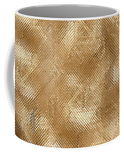 Gold Metal  Coffee Mug