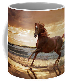 Gold Runner Coffee Mug