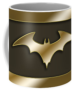 Golden Bat Coffee Mug