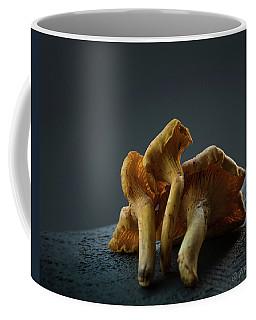 Golden Chanterelle Mushroom Coffee Mug