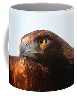 Coffee Mug featuring the photograph Golden Eagle 5151803 by Rick Veldman