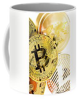 Golden Exchange Coffee Mug