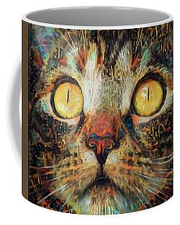 Golden Eyes Dreaming Coffee Mug