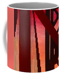 Golden Gate Art Deco Masterpiece Coffee Mug
