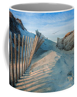 Golden Glow Dunes Coffee Mug