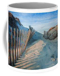 Golden Glow Dunes Coffee Mug