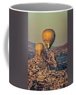 Golden Hour Balloons Coffee Mug