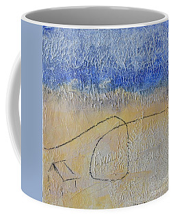 Coffee Mug featuring the painting Golden Hour by Kim Nelson