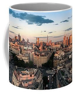 Coffee Mug featuring the photograph Golden Hour London by Stewart Marsden