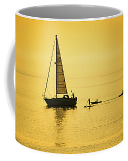 Golden Hour On Cardigan Bay, Aberystwyth Coffee Mug